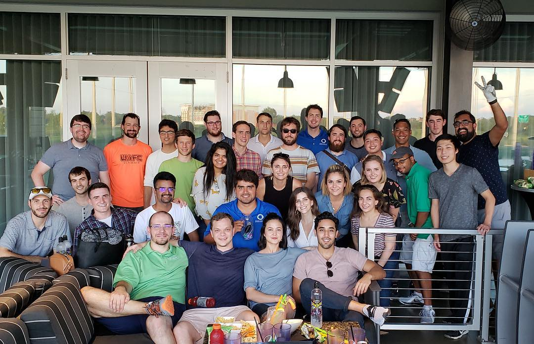 Team Picture - Top Golf